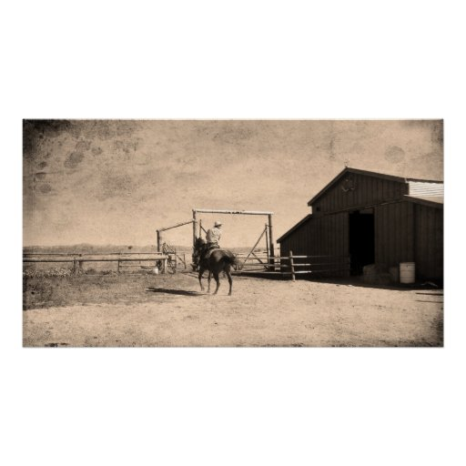 On The Ranch Posters