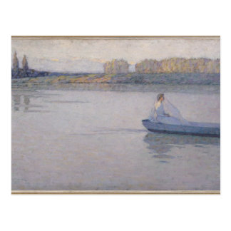 On the River, Morning, 1896 Post Cards
