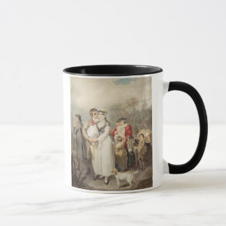 On The Road, 1799 (w/c over traces of pencil on pa Mug