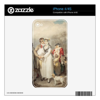 On The Road, 1799 (w/c over traces of pencil on pa Skins For The iPhone 4