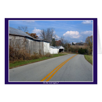 """""""On the road again..."""" Card"""