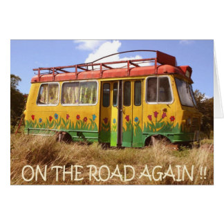 On the Road Again Card