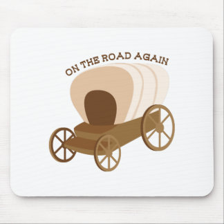On The Road Again Mouse Pad