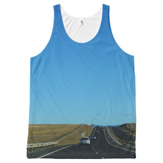 On the Road All-Over-Print Tank Top