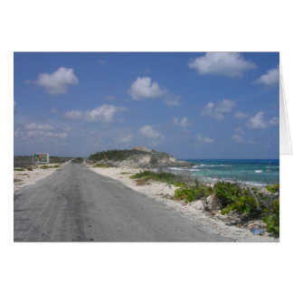On the Road - Cozumel, Mexico Card