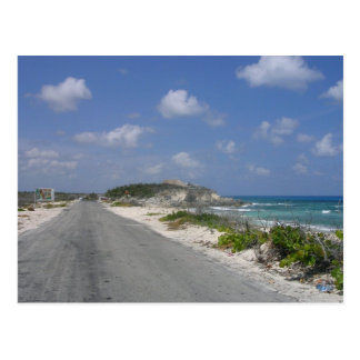 On the Road - Cozumel, Mexico Postcards