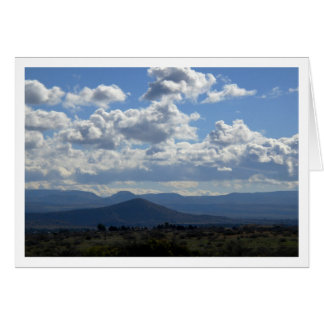 On the Road in Arizona Stationery Note Card