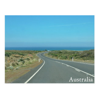 On the Road in Australia Postcard
