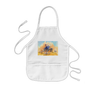 On the road kids' apron