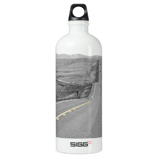 On the Road : Road Trip : Highway Travels Water Bottle