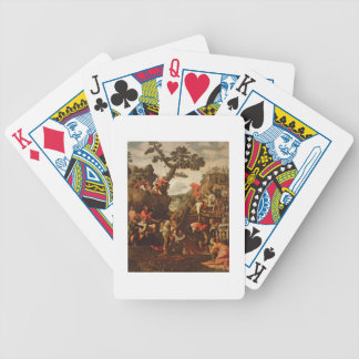 On the Road to Calvary Bicycle Playing Cards