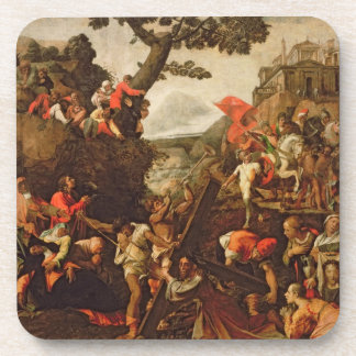 On the Road to Calvary Drink Coaster