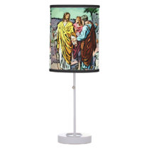 On the Road to Emmaus Table Lamp