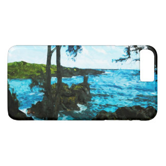 On the Road to Hana Maui Abstract Impressionism iPhone 7 Plus Case