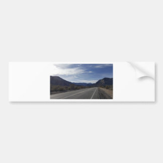 on the road to mt charleston nv bumper sticker