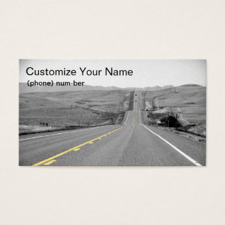 On the Road :: Travels :: Road Trip :: Vacation Business Card