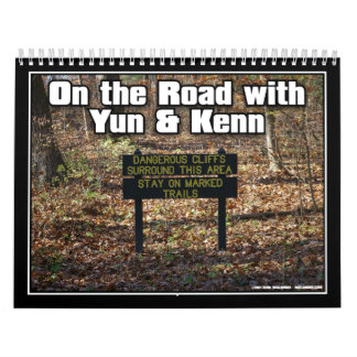 On the Road with Yun & Kenn Calendar