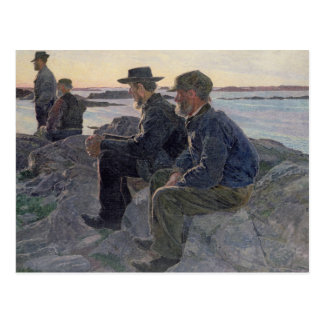 On the Rocks at Fiskebackskil, 1905-6 Post Card