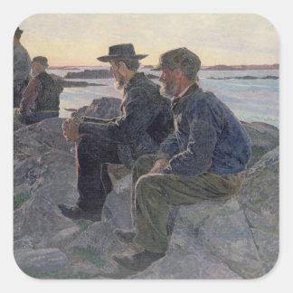 On the Rocks at Fiskebackskil, 1905-6 Stickers