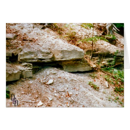 On the Rocks Card