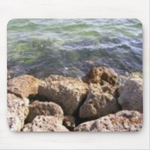On The Rocks in Florida Mouse Mat