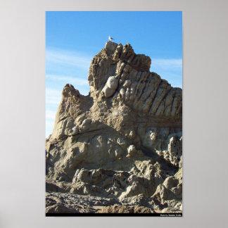 On The Rocks Print