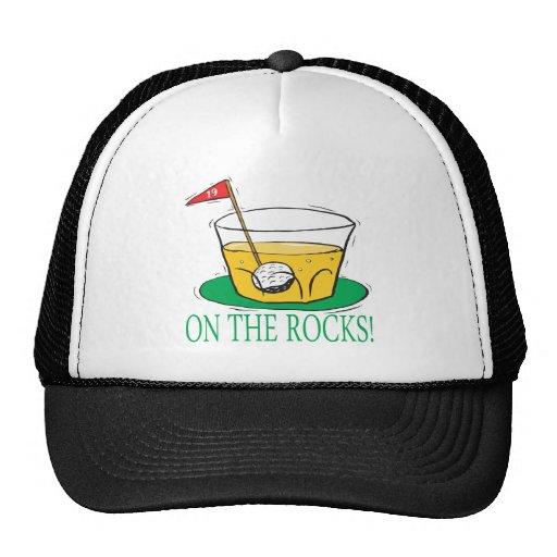 On The Rocks Trucker Hats