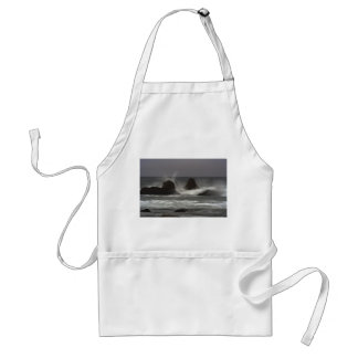 On The Rocks - White Point Beach, NS Adult Apron