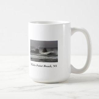 On The Rocks - White Point Beach, NS Coffee Mug