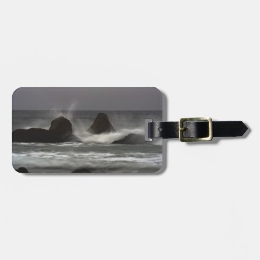 On The Rocks - White Point Beach, NS Luggage Tags