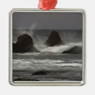 On The Rocks - White Point Beach, NS Metal Ornament
