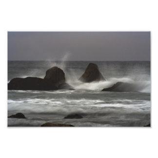 On The Rocks - White Point Beach, NS Art Photo