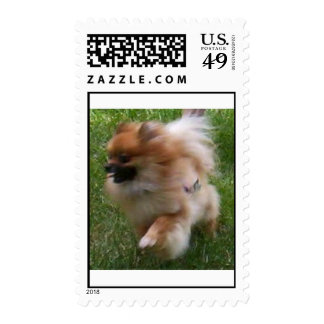On The Run Postage Stamp