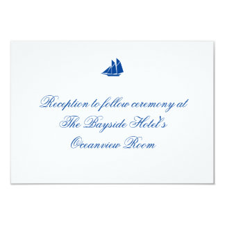 """On the Sea"" Reception Cards"