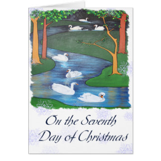 On The Seventh Day of Christmas Card