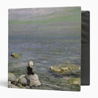 On the Shore of the Black Sea, 1890s 3 Ring Binder