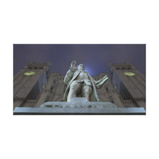 On the Shoulders of Giants Canvas Print