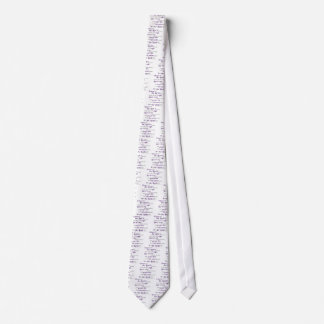 On the side of the right... tie