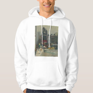 On the sidewalk 2012 hoodie
