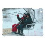 On the ski lift cover for the iPad mini
