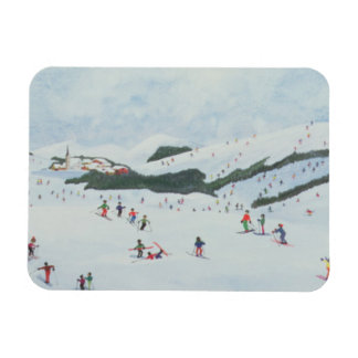 On the Slopes 1995 Magnet