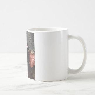 On the Sofa - 1872 by Wilhelm Trübner Coffee Mug