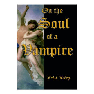 On the Soul of a Vampire book cover poster