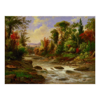 On the St. Annes East Canada by Duncanson Poster