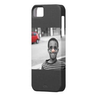 on the street clown iPhone SE/5/5s case