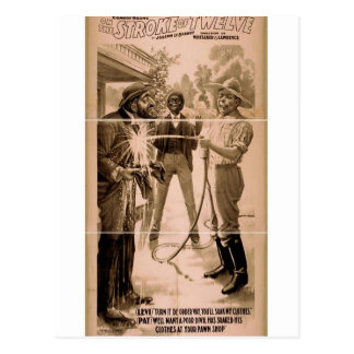 On the Stroke of Twelve, 'Levi and Pat' Vintage Th Postcard