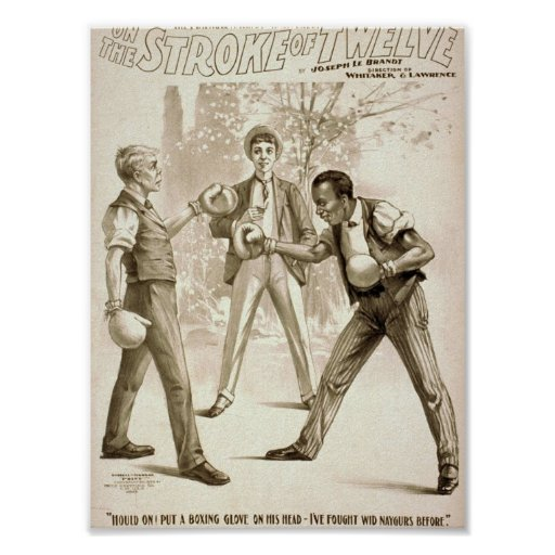 On the Stroke of Twelve Poster
