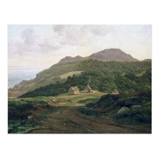 On the Swedish Coast, 1828 Postcard