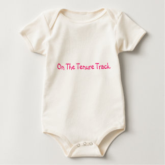 On the tenure track baby bodysuit