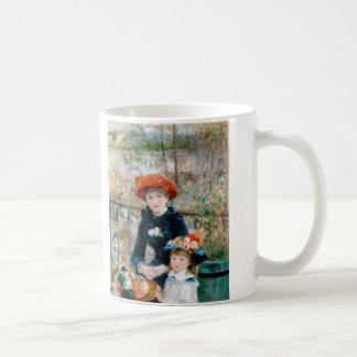 On the Terrace by Pierre-Auguste Renoir 1881 Coffee Mug